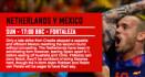 オランダとメキシコの勝利予想オッズ